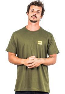 Camiseta Alfa Trek Verde Militar