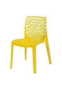 Cadeira Gruvyer Amarelo Or Design