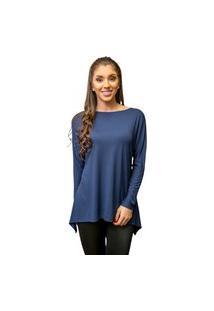 Blusa Catiele Azul Marinho