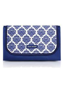 Tapete Para Piquenique Impermeável Tam. G Jacki Design Bella Vitta Azul .