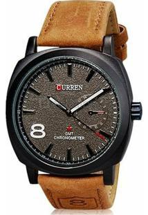 Relógios Couro Dia A Dia masculino   Moda Sem Censura 79e96ad45e