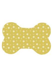 Tapete Wevans Pet Patinhas Amarelas Amarelo