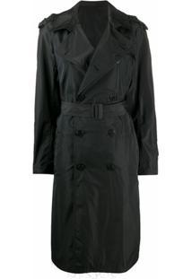 Neil Barrett Trench Coat Preto