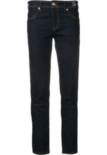 Versace Jeans Couture Calça Jeans Skinny - Azul