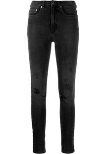 Victoria Victoria Beckham Powerhigh V Shape Skinny Jeans - Preto
