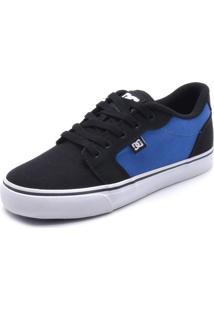 Tênis Dc Shoes Anvil Tx La Azul-Marinho