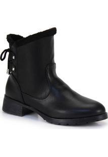 Ankle Boots Mooncity Pelúcia