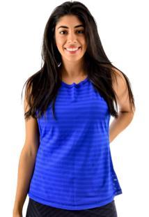 Regata Rich Young Básica Lisa Fitness Academia Azul