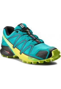 Tênis Salomon Masculino Speedcross 4 Lime 36