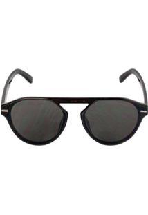 Óculos De Sol San Diego Espelhado Preto