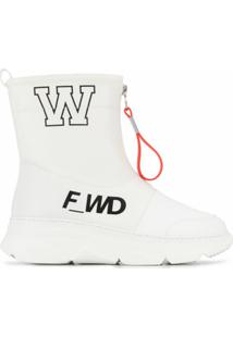 F_Wd Ankle Boot - Branco