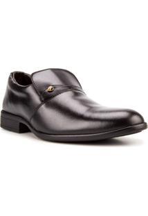 Sapato Social Masculino Polonni Classico Preto