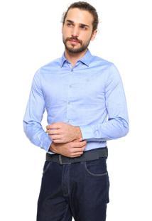 Camisa Forum Smart Azul