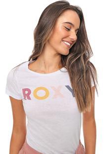 Camiseta Roxy The Waves Branca