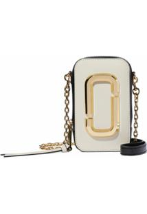 Marc Jacobs Bolsa Transversal The Hot Shot - Branco