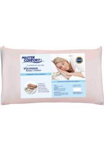 Travesseiro Viscoelástico Beauty & Comfort Malha Canelada Altura 13 Cm