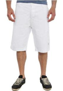 Bermuda Golf Club Chino Masculina - Masculino-Branco