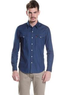 Camisa Levis Classic Western 669860020 - Masculino-Azul
