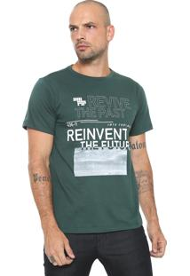 Camiseta Fiveblu Manga Curta Revive Verde