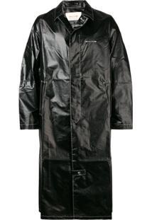 1017 Alyx 9Sm Trench Coat Midi - Preto