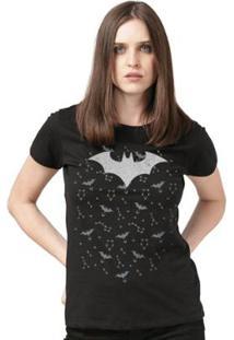 Camiseta Bandup! Batman Astrology - Feminino-Preto