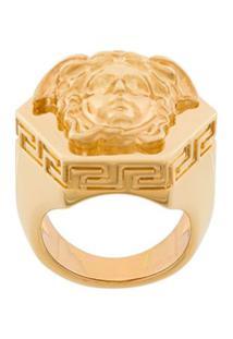 Versace Anel 'Medusa' - Dourado