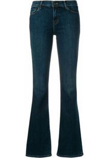 J Brand Classic Bootcut Jeans - Azul