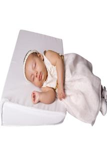 Travesseiro Anti-Refluxo Baby Holder Branco.