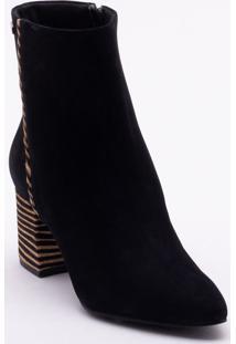 0c4fe8ead Ankle Boot Nobuck feminina   Starving