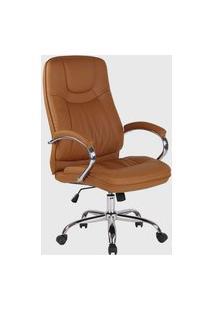 Cadeira Office Lyon Caramelo Rivatti Caramelo