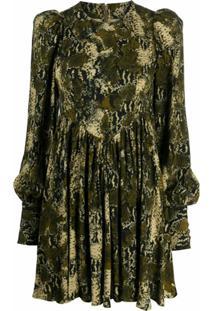 Rotate Vestido Alison - Verde