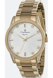 Relógio Feminino Champion Cn25823W Analógico + Conjunto Semijóia