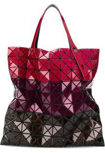 Bao Bao Issey Miyake Bolsa Tote Prism Color Block - Vermelho