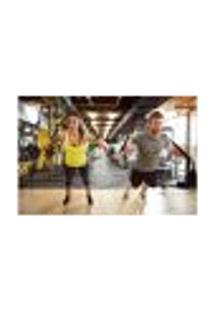 Painel Adesivo De Parede - Fitness - Academia - 791Pnm