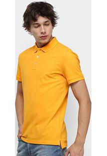 Camisa Polo Tommy Jeans Classic Solid Masculino - Masculino-Amarelo