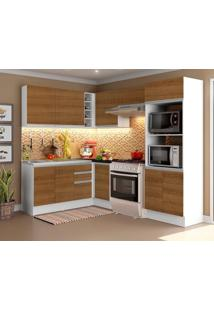 Cozinha Completa Acordes Glamy Rustic 100% Mdf Canto Madesa