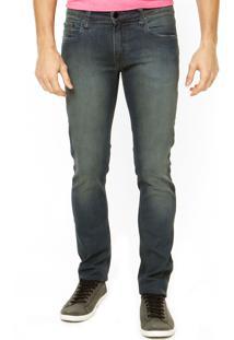 Calça Calvin Klein Jeans Bolsos Azul