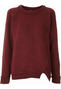 Uma | Raquel Davidowicz Blusa De Tricô Noruega - Vermelho
