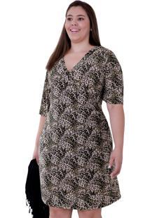 Vestido Vickttoria Vick Gal Plus Size