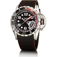 928e5a1fcba Relógio Masculino Everlast Pulseira Silicone Analógico - Masculino-Preto
