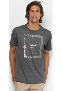 Camiseta Hurley Silk Bloom Masculina - Masculino