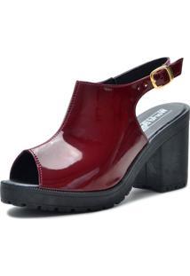 Sandália World Boot Queen Vermelha