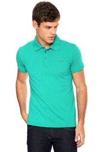 Camisa Polo Colcci Slim Verde