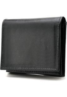 Carteira Hendy Bag Couro - Masculino-Preto
