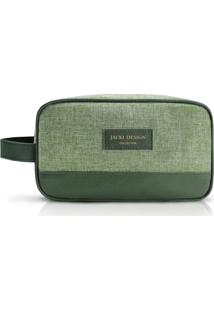 Necessaire Com Alça Lateral Jacki Design Be You Verde