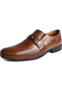 Sapato Social Shoes Grand Couro Frascati Tabaco