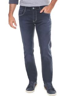Calça Jeans Sawary Slim Comfort Azul