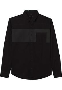Camisa Kevin (Preto, M)