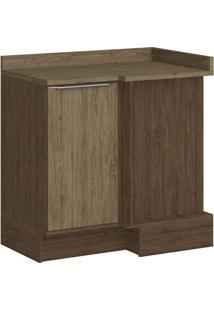 Balcão De Canto Decibal 4039R Cedro Wood Se