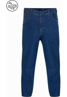 Calça Jeans Plus Size Blue Win